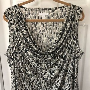 EUC Charter Club Geometric Sleeveless